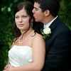 Karmen & Dustin : The rain stopped just in time!!